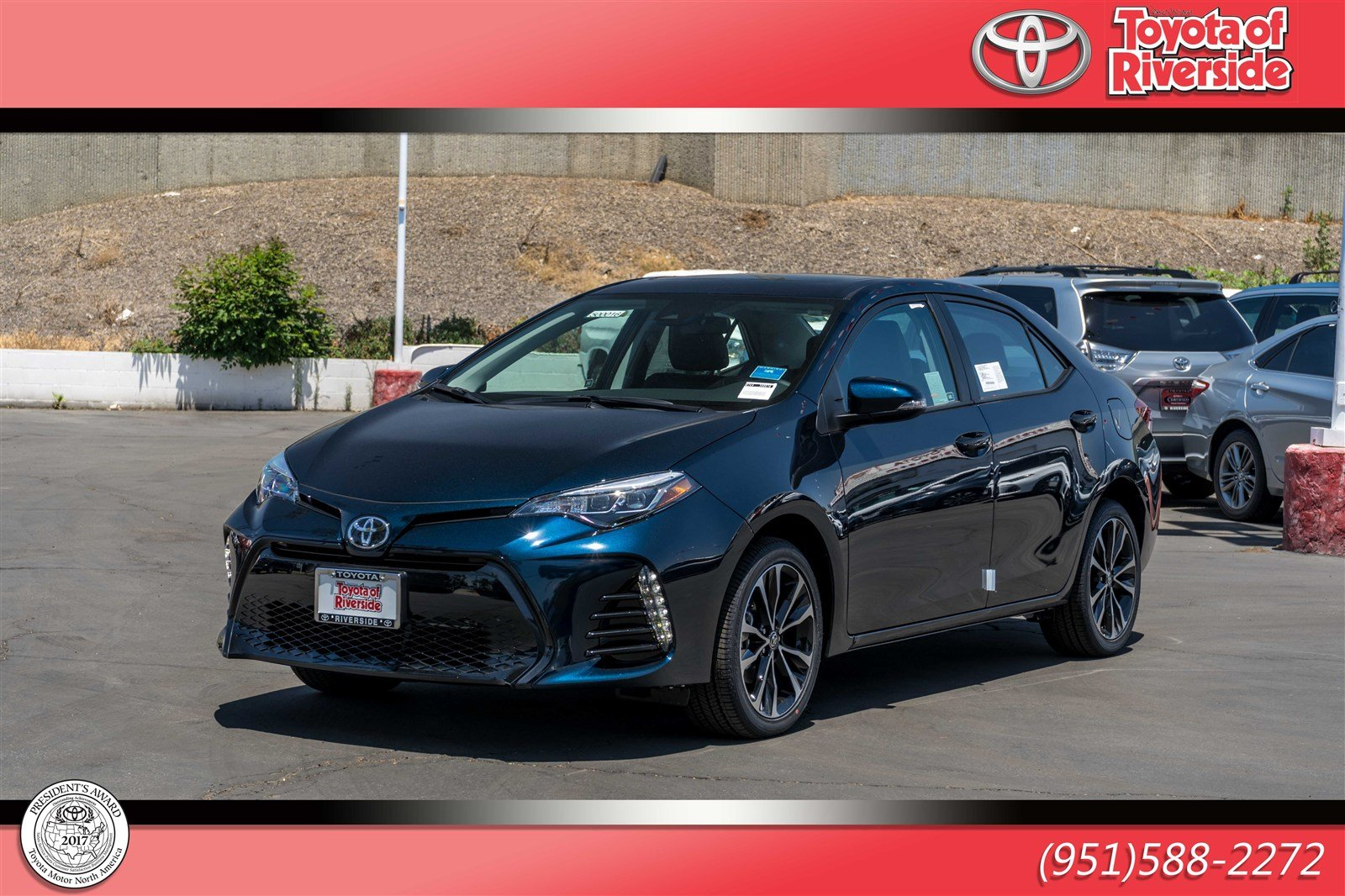 New 2019 Toyota Corolla Xse 4dr Car In Riverside 00500016 Toyota