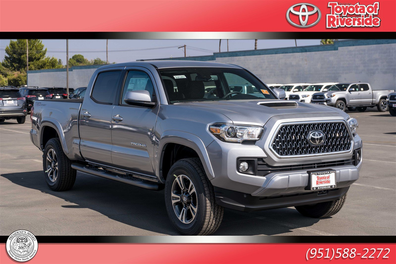 2019 Toyota Tacoma >> New 2019 Toyota Tacoma Trd Sport Double Cab In Riverside 00500287