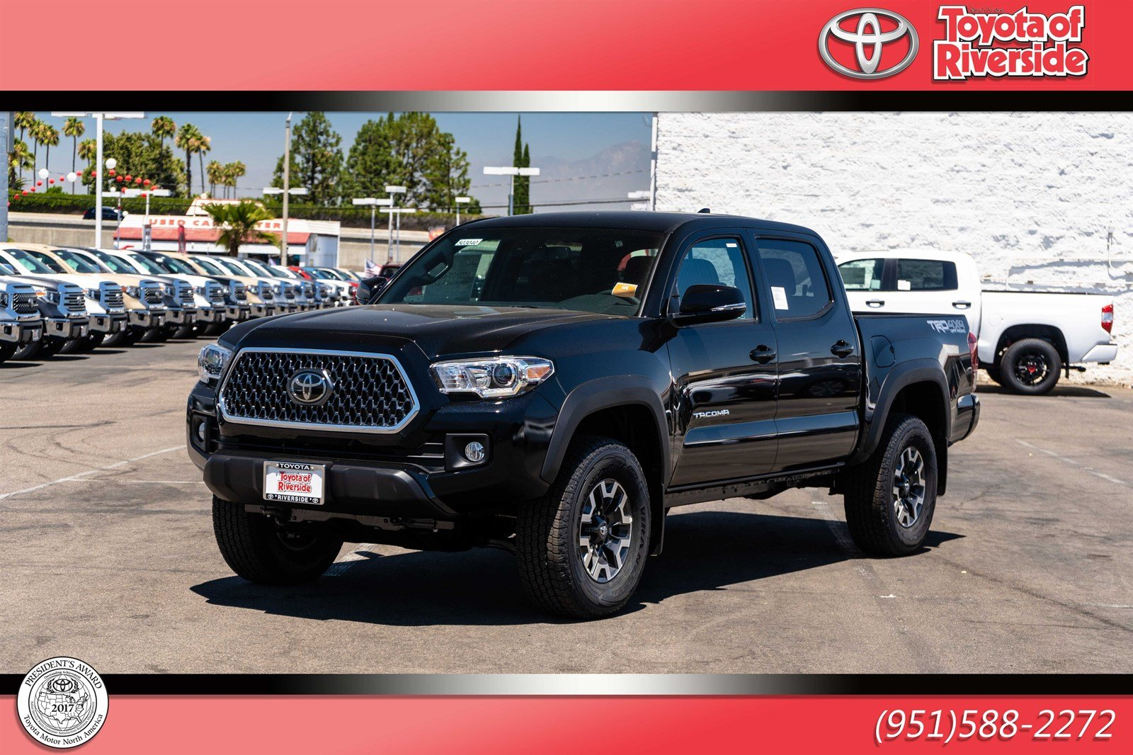 Pre-Owned 2019 Toyota Tacoma 4WD TRD OF