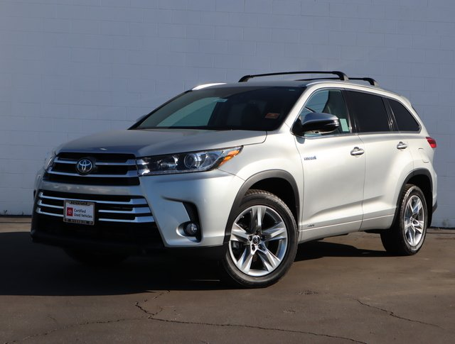 Certified Pre-Owned 2017 Toyota Highlander HYBRID LTD