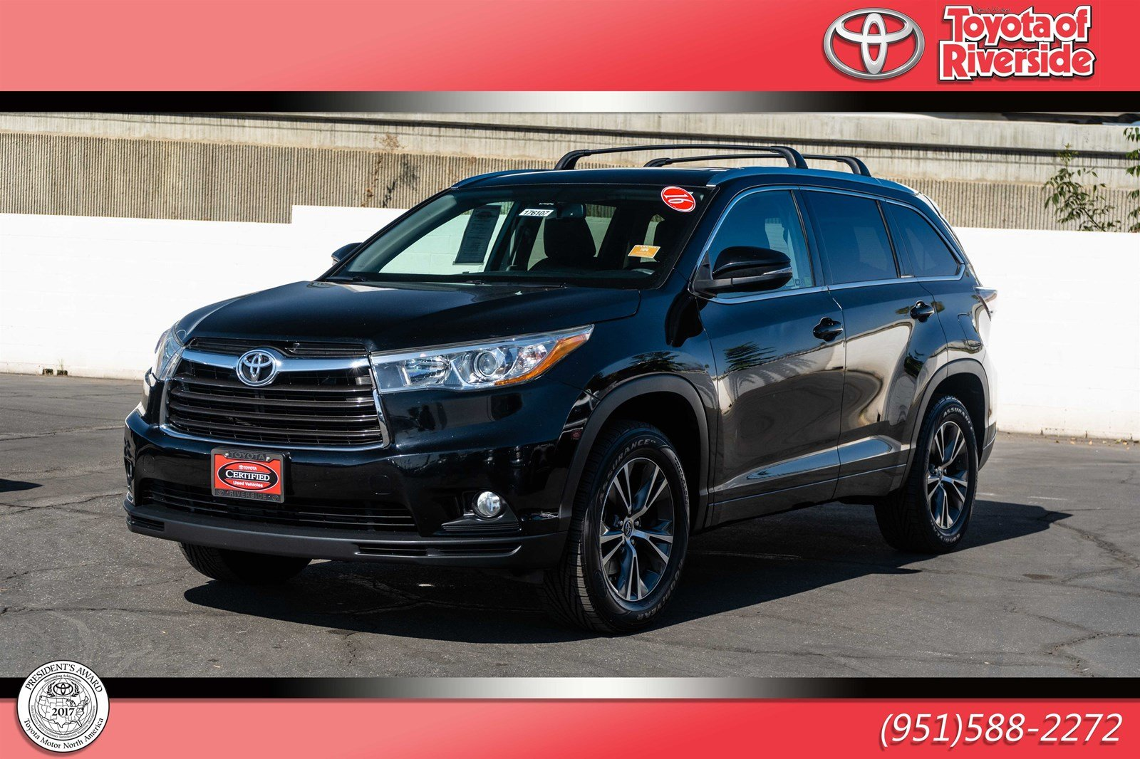 Certified Pre-Owned 2016 Toyota Highlander XLE FWD